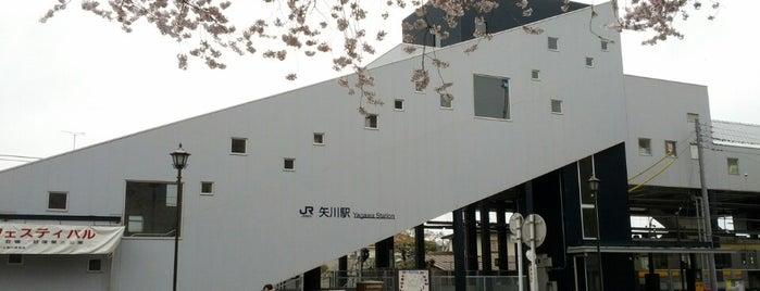 Yagawa Station is one of JR 미나미간토지방역 (JR 南関東地方の駅).