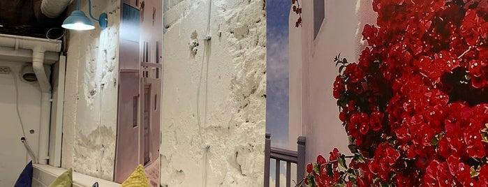 Mykonos is one of New restaurants.