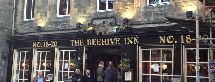 The Beehive Inn is one of Edinburgh.