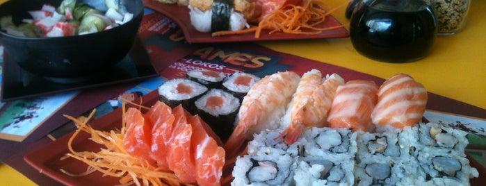 Sushi Loko is one of Fui, gostei, voltarei e indico! By Otávio Mélo.