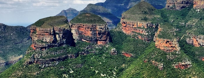 The Three Rondavels is one of South Africa.
