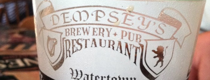 Dempsey's Brewery Pub & Restaurant is one of things we need to do every time we're in watertown.