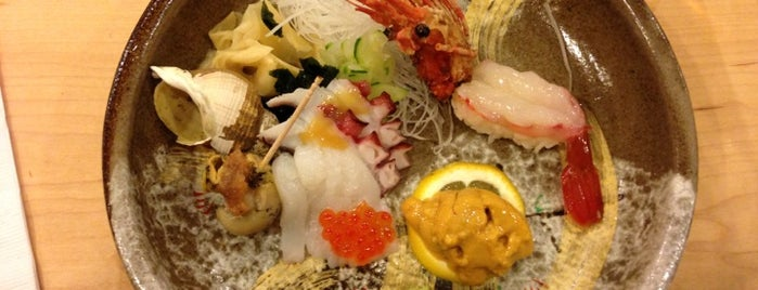 Sushi Yasu is one of Places in NYC I want to try.