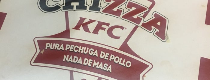 KFC is one of Orte, die Antonio Carlos gefallen.
