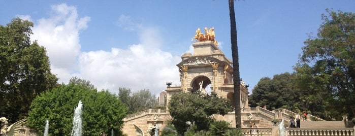 Ciutadella park is one of Europe 16.