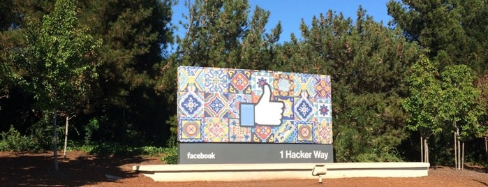 Facebook Sign is one of My San Francisco.
