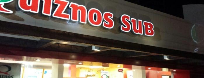 Quiznos is one of Locais Especiais.
