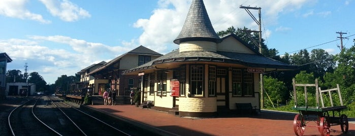 New Hope & Ivyland RR - New Hope Station is one of Adventures.