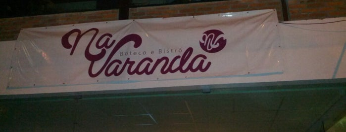 Na Varanda is one of Bar e Restaurante a serem conhecidos.