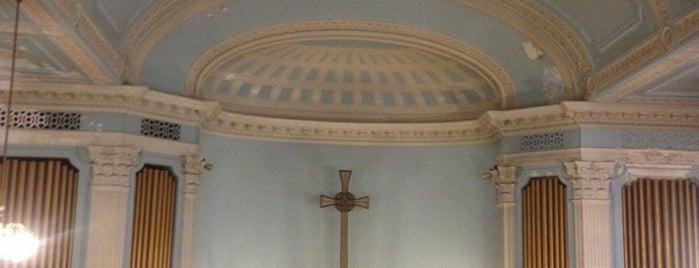 Fort Washington Heights Presbyterian Church is one of National Historic Landmarks in Northern Manhattan.