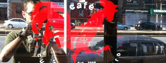 Café 474 is one of Interesting Stuff in Park Slope, Brooklyn.