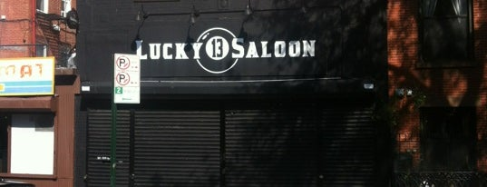 Lucky 13 Saloon is one of Interesting Stuff in Park Slope, Brooklyn.