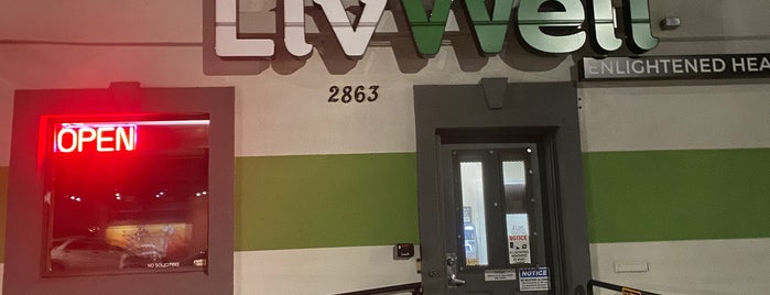 Livwell Dispensary is one of Denver Trip.