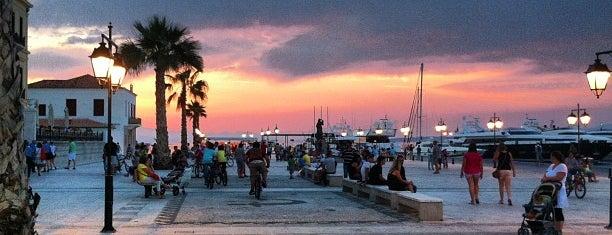 Πλατεία Ποσειδωνίου is one of Spetses Island.