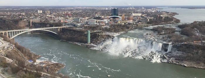 Observation Deck is one of The Falls.
