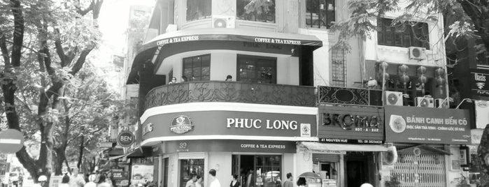 Phúc Long Coffee & Tea Express Nguyễn Huệ is one of Elixson 님이 좋아한 장소.