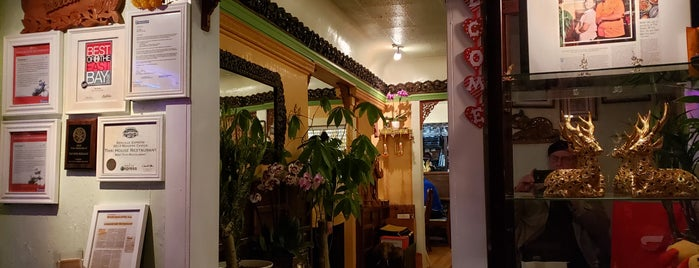 Thai House is one of 2013 San Francisco Bib Gourmands.