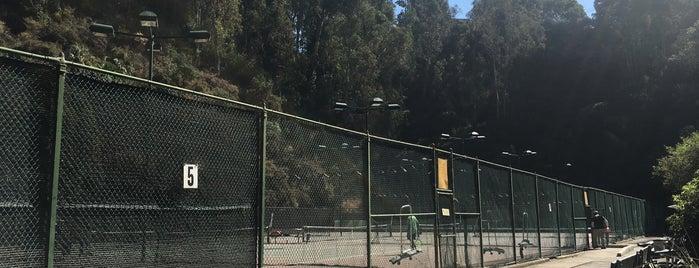 Davies Tennis Stadium is one of My spots.