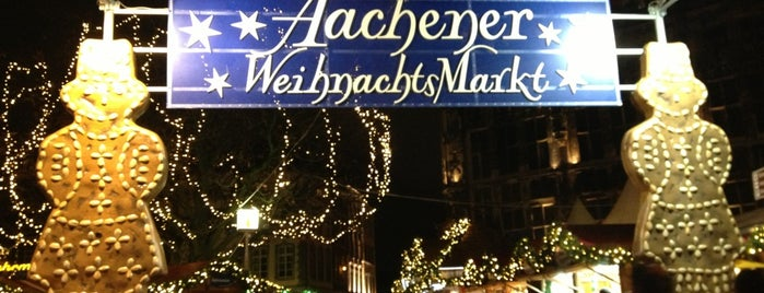 Aachener Weihnachtsmarkt is one of Lugares favoritos de Can.