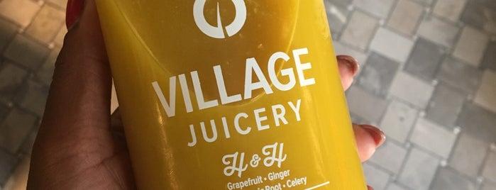 Village Juicery is one of สถานที่ที่ Ethan ถูกใจ.