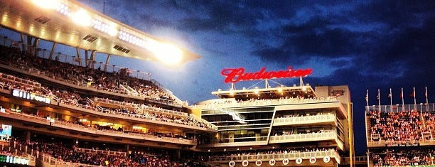 Target Field is one of MLB Ballparks.