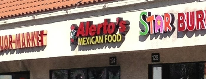 Alerto's Mexican Food is one of Travel Food.