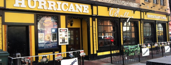 Hurricane O'Reilly's is one of Resturaunts.