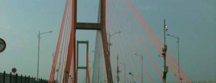 Jembatan Suramadu is one of barry.