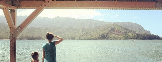 Hanalei Bay Pier is one of Kauai.