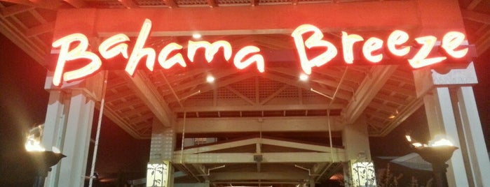 Bahama Breeze is one of Mimiさんのお気に入りスポット.
