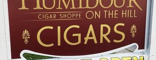 Humidour Cigar Shoppe is one of Locais curtidos por DaByrdman33.