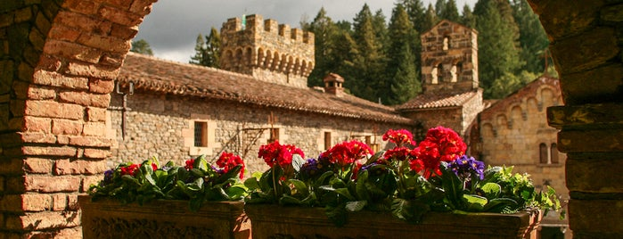 Castello di Amorosa is one of A Weekend Away in Napa.