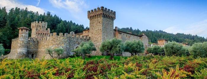 Castello di Amorosa is one of Dine!.
