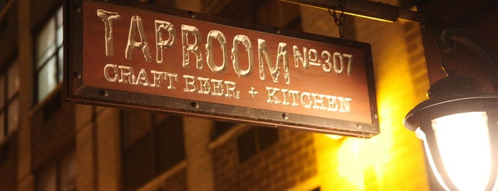 Taproom No. 307 is one of Favorite bars and lounges.