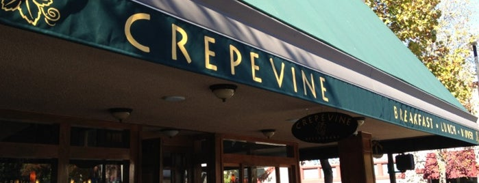 Crepevine is one of favs around Bay Area.