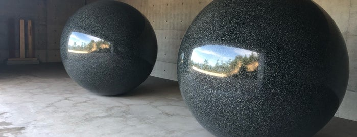 Seen/Unseen Known/Unknown is one of Art on Naoshima.