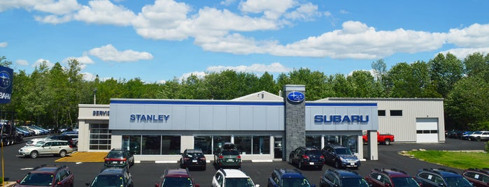 Stanley Subaru is one of Subaru of New England Dealers.