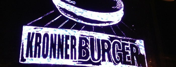 Kronnerburger is one of Restaurants (SF Bay Area).
