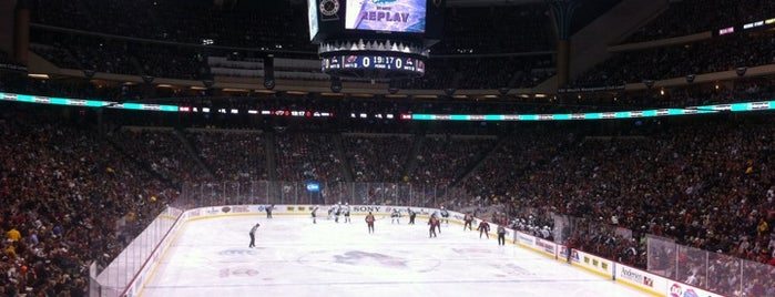 Xcel Energy Center is one of NHL Arenas 2013.