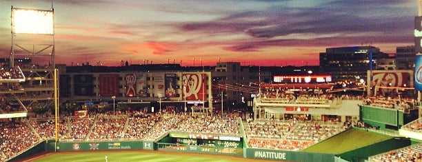 Nationals Park is one of #UberApproved in DC.