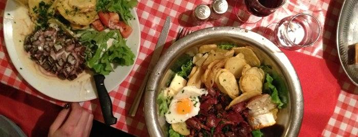 Chez Gladines is one of Paris food.