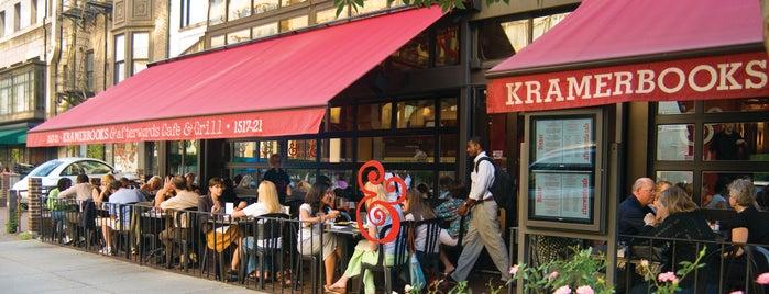 Kramerbooks & Afterwords Cafe is one of Kwan goes to Washington.