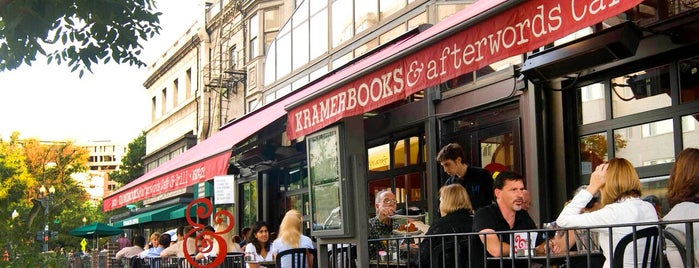 Kramerbooks & Afterwords Cafe is one of D.C..