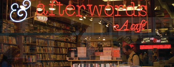 Kramerbooks & Afterwords Cafe is one of Washington D.C. Racked 38.