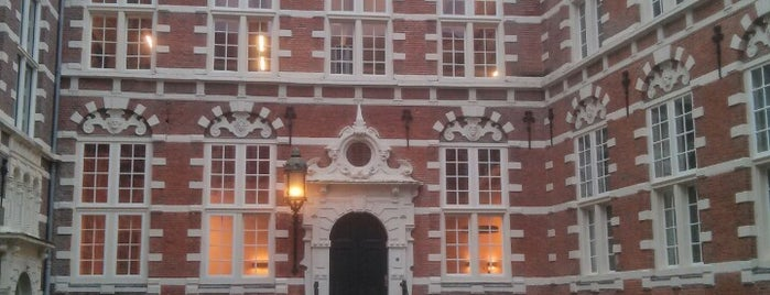 UvA Oost-Indisch Huis/Bushuis is one of Amsterdam.