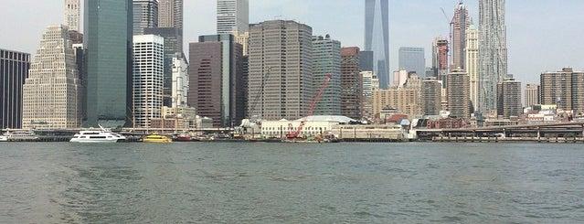 NYC Ferry - Wall St./Pier 11 Landing is one of Tempat yang Disukai JO.