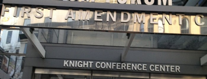 Newseum - Knight Conference Center is one of Amanda'nın Beğendiği Mekanlar.