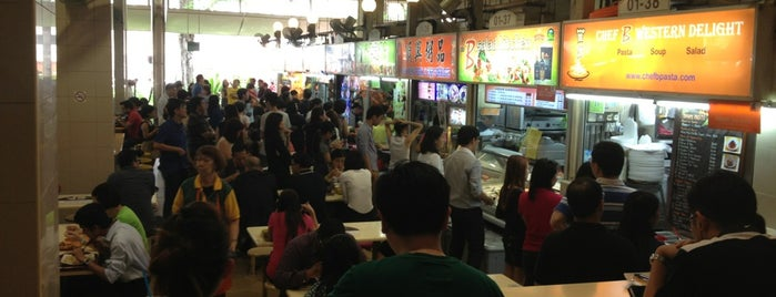Amoy Street Food Centre is one of Singapore.