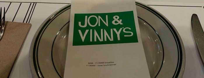 Jon & Vinny's is one of Lieux qui ont plu à Natalia.