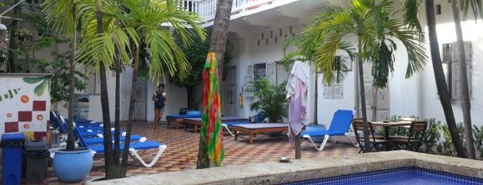 Media Luna Hostel is one of Cartagenias.
